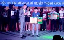 Sinh viên ĐHQG Hà Nội vô địch FameLab 2016