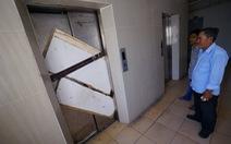 Thang máy chung cư hư, không ai sửa