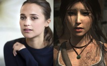Alicia Vikander vào vai Lara Croft trong phim dựng lại Tomb Raider