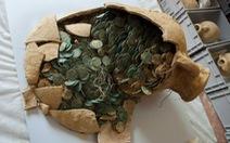 Tây Ban Nha đào được hơn nửa tấn tiền cổ thời La Mã
