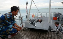 Tàu chiến 381 của Việt Nam chuẩn bị hợp luyệnADMM+