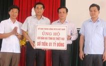 Nhiều tổ chức giúp đỡ ngư dân Hà Tĩnh