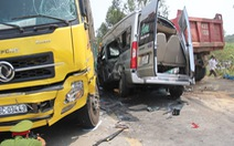Xe gây tai nạn làm 4 người chết không có đăng ký kinh doanh