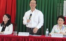 Trưởng Ban Tuyên giáo trung ương Võ Văn Thưởng tiếp xúc cử tri