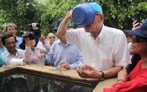 Phó Tổng thư ký LHQ nếm nước mặn ở Bến Tre