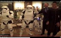 Clip vợ chồng Obama nhảy cùng các nhân vật trong Star Wars