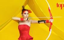Thanh Hằng làm xạ thủ trong clip Vietnam's Next TopModel 2016