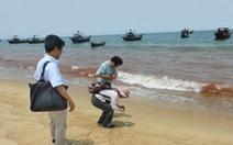 Nước biển đỏ ở Quảng Bình không phải là thủy triều đỏ