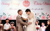 Rơi nước mắt trong đám cưới cổ tích
