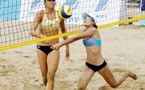 VĐV bóng chuyền bãi biển cấp cứu khi đang thi đấu: Hai lần nhập viện