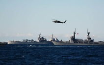 Các nước ADMM+ kết thúc giai đoạn diễn tập thực binh trên biển