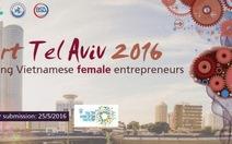 Israel tổ chức thi khởi nghiệp cho phụ nữ VN