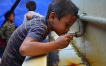 Đưa nước sạch đến vùng hạn