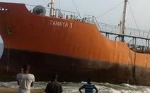 """Bí ẩn """"tàu ma"""" dạt vào bờ biểnLiberia"""
