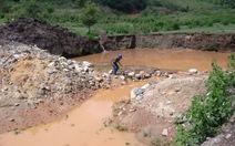 Dự án thủy điện đâu ngờ giờ là bãi vàng tan hoang