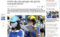 """Bộ trưởng GD-ĐT trực tiếp trao đổi với cô giáo viết """"8 thỉnh cầu"""""""