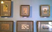 """Triển lãm """"Hình ảnh phụ nữ qua tranh ký họa kháng chiến"""""""