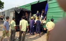 25 tấn hàng không rõ nguồn gốc trên tàu hàngga Biên Hòa