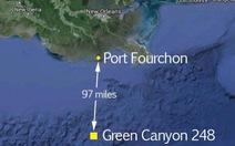 Hơn 340.000 lít dầu thô tràn ra vịnh Mexico