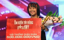 Tay trống nhí Trọng Nhân đăng quang Vietnam's Got Talent