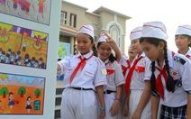 Lịch sử Đội qua nét vẽ trẻ thơ