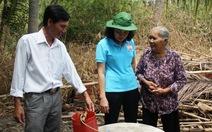 Trao 48 giếng nước, 10 nhà tình thương cho dân vùng hạn mặn