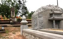 Di tích lăng mộ Thái Phiên - Trần Cao Vân bị lấn chiếm
