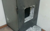 Học sinh phá két sắt trộm tiền tỉ