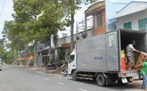 Chủ tịch Cao Lãnh bất ngờ khi xe tải vô nội ô phải xin phép