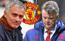 Mourinho thay Van Gaal dẫn dắt M.U