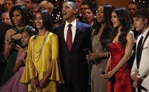 Nghe Tổng thống Obama thử tài làm ca sĩ