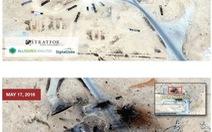 IS phá hủy 4 trực thăng tại căn cứ không quân Nga