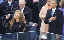 Siêu sao thế giới Beyonce, Lady Gaga hát quốc ca ra sao?