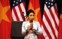 Nghe Mỹ Linh hát Quốc ca chào mừng Tổng thống Obama