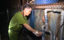 Bắt quả tang công ty Đông Đông Hải xả thải ra môi trường