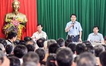 Chủ tịch Hà Nội đối thoại với dân ven bãi rác Nam Sơn