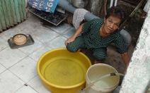 Nhiều hộ dân Sài Gònbị cúp nước từ tối đến trưa