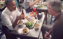 Đầu bếp Bourdain nói gì về bữa ăn với ông Obama?