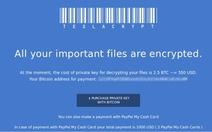 Người dùng lơ là, mã độc tống tiền hoành hành