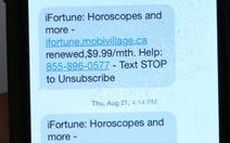Nhà mạng Canada phải trả khách 11,8 triệu USD vì tin nhắn mập mờ