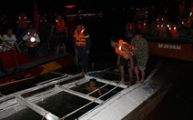 Tàu lật trên sông Hàn từng chìm cách đây hai năm