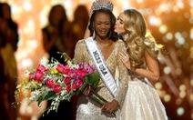 Nữ sĩ quan quân đội trở thành tân hoa hậu Mỹ