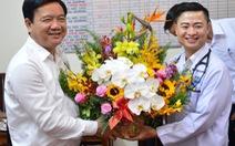 """Bí thư Thăng: """"Bác sĩ Trần Hoàng Minh là hình ảnh đáng quý"""""""