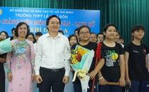 Bộ trưởng Nhạ nói sẽ rà soát lại Thông tư 30