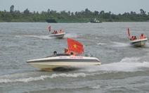 500 cán bộ chiến sĩ diễn tập cứu nạn, cứu hộ đường thủy