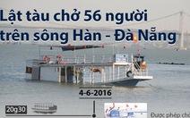 Toàn cảnh vụ lật tàu du lịch trên sông Hàn, 3 người chết