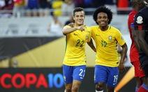 Coutinho lập hat-trick, Brazil hủy diệt Haiti