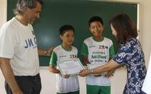 Thêm hai tài năng cho Học viện bóng đá NutiFood HAGL Arsenal JMG