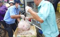 Phát hiện hơn 600kg thịt bẩn không chủ ở chợ Đồng Xoài