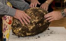 Tìm thấy tảng bơ lớn 2000 tuổi ở Ireland